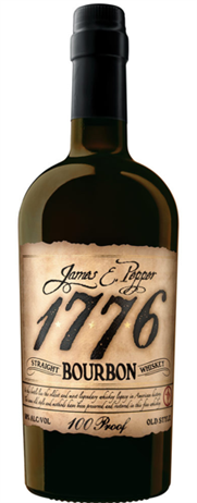 James E Pepper 1776 Bourbon 100PF
